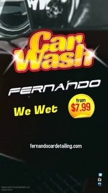 Car Wash Template