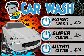 Car Wash Poster. Cleaning Service Flyer   PosterMyWall