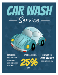 CAR WASH FLYERS