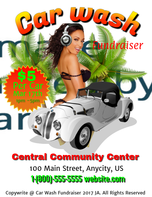 Car wash Fundraising