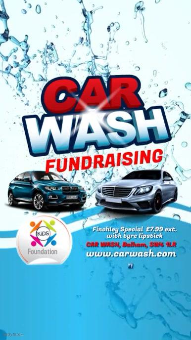 Car Wash Fundraising Video Post