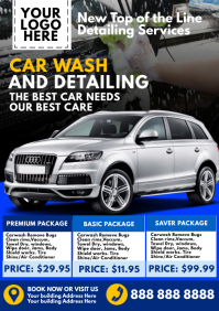 Car Wash Package Template A4