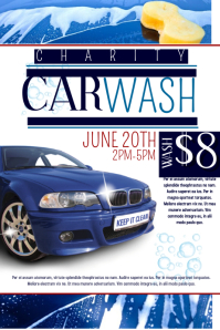 customizable design templates for car wash postermywall