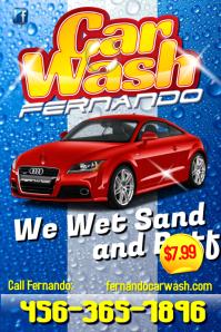 Contoh Banner Cuci Mobil Simak Gambar Berikut