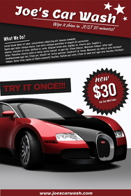 Car Wash Flyer Templates | PosterMyWall