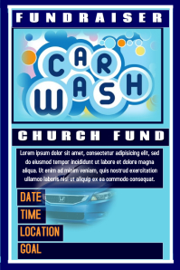 car wash poster templates postermywall. Black Bedroom Furniture Sets. Home Design Ideas