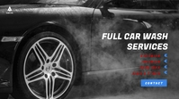 Car Wash/Service Video Ad Digital Display (16:9) template