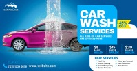 Car Wash Services Ad Facebook Shared Image template