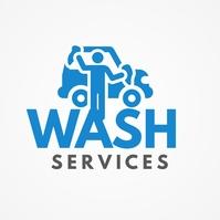 Car Wash Services Logo template