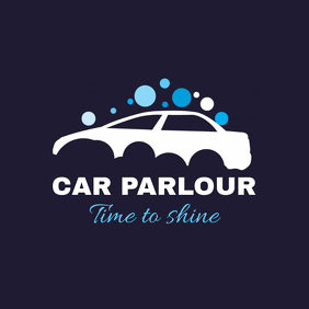 Car Wash Services Logo Template