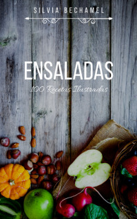 Caratula de Libro de Recetas de Ensaladas Kindle/Book Covers template