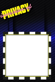 Cardi B Party Prop Frame