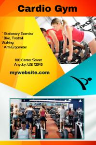 Cardio Gym Fitness Flyer