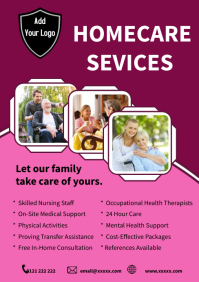 Care Agency Home Care template A5