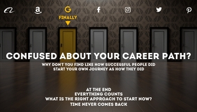 Career Blog Header Template