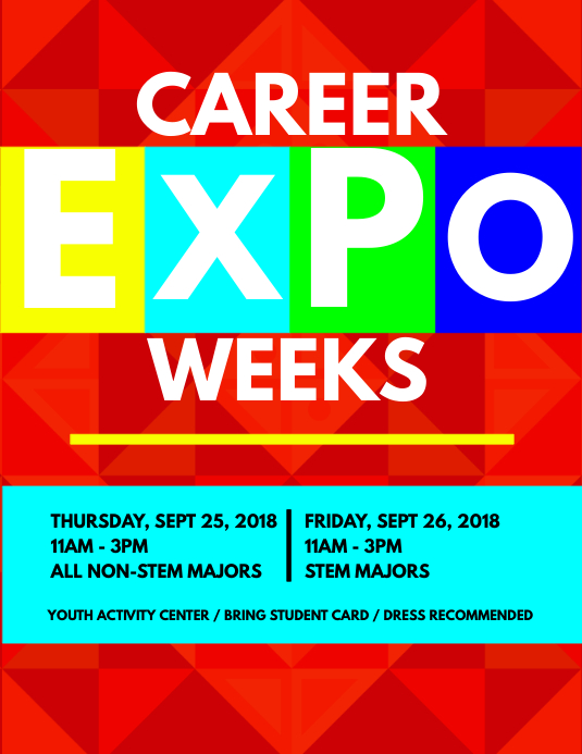 Career Expo Flyer Template