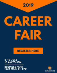 CAREER FAIR FLYER TEMPLATE