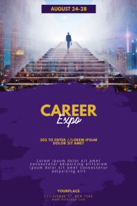 Career Job Expo Flyer Template