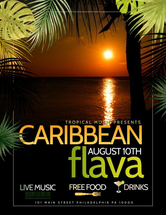 Caribbean Template PosterMyWall