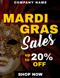 Carnival and mardi gras sales and discounts