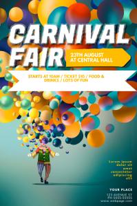 carnival fair flyer template