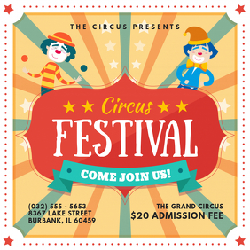 Carnival Festival Invitation Instagram Ad