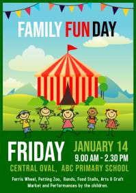 Carnival Fete Fair Poster Flyer template