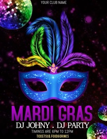 carnival flyer templates,mardi grass templates,event flyers