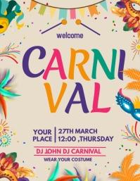 Carnival flyers,mardigras flyers