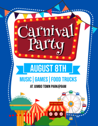 80 customizable design templates for carnival flyers postermywall
