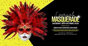 Carnivale Masquerade Facebook Event Poster