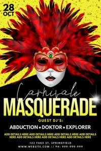 Carnivale Masquerade Poster
