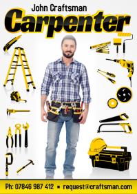 Carpenter Business Flyer