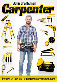 Carpenter Business Flyer
