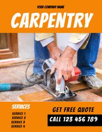 carpenter flyer template