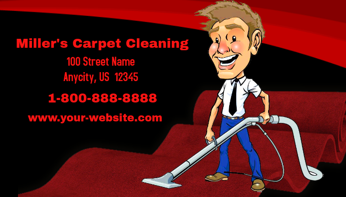 Carpet cleaning business card template postermywall carpet cleaning business card colourmoves