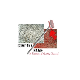 Carpet Cleaning Company Design Logo template