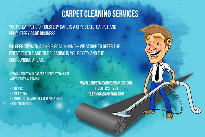 Carpet Cleaning Service Template