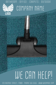 carpet cleaning service flyer template