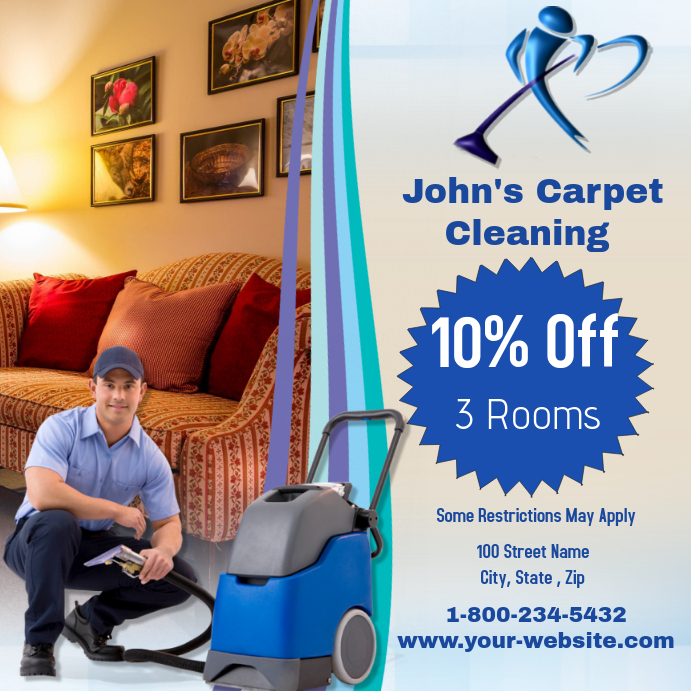 Free Online Carpet Cleaning Flyer Maker Postermywall