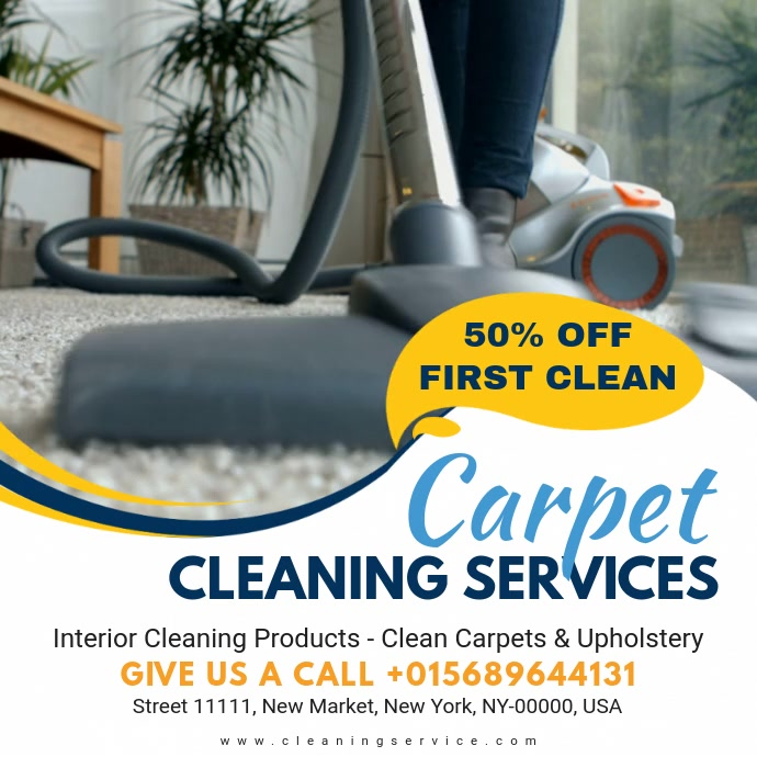 Carpet Cleaning Service Online Advert Video