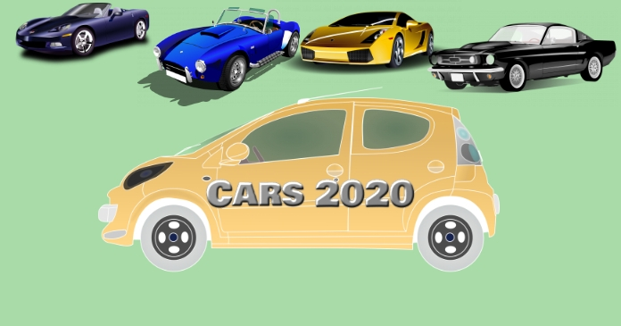 Cars 2020 model Facebook Shared Image template