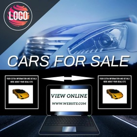 CARS CAR FOR SALE AD TEMPLATE