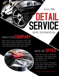 Flyer Car Geccetackletartsco - Car wash flyer template free