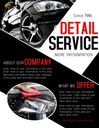 Car Wash Service Flyer. CARS. CARS