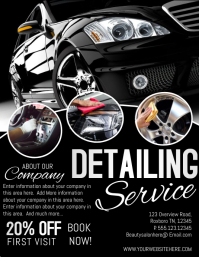 CARS Flyer (US Letter) template