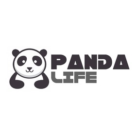 cartoon panda animal icon logo template