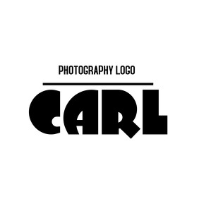 cartoonish signature logo