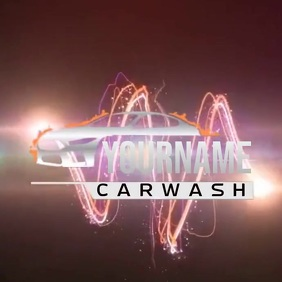 CARWASH CAR WASH LOGO SOCIAL MEDIA TEMPLATE
