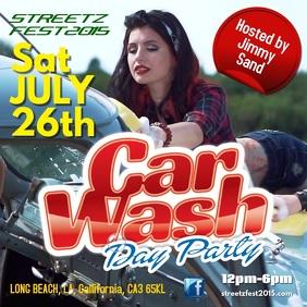 CarWash Event Instagram
